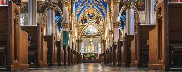 Basilica of the Sacred Heart interior