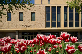 hesburgh_library_east_door