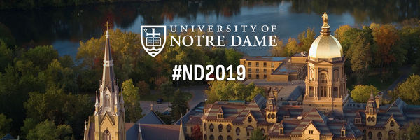 Twitter Cover Photo for Notre Dame Class of 2019