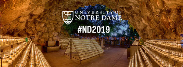 Facebook Cover Photo for the Notre Dame Class of 2019 - Photo of the Grotto