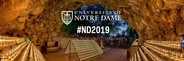 Twitter Cover Photo for the Notre Dame Class of 2019 – the Grotto