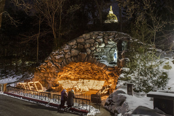 A Grotto tribute to Fr Ted