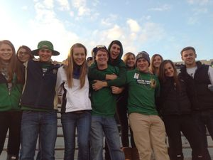 Gateway Students at ND Football Game