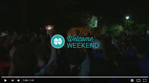 Welcomeweekendvideo
