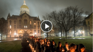 Video: Candlelight Prayer Service