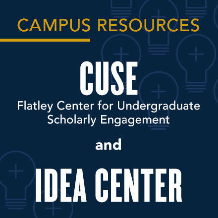 Campus Resources: CUSE and IDEA center