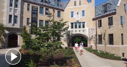 Watch The Basics of Residential Life at Notre Dame Video